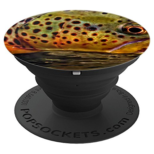 9e71aef1360063 Trout Skin Brown Trout Fly Fishing Phone Cover Pop Flies NEW - PopSockets  Grip and Stand for Phones and Tablets