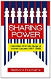 Sharing Power, Barbara Frechette, 1462010962