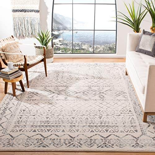 Safavieh Tulum Collection TUL268A Moroccan Boho Distressed Non-Shedding Stain Resistant Living Room Bedroom Area Rug