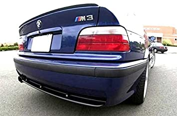 Rear Trunk Lid Wing Sport Spoiler Lip For BMW E36 3 Series Coupe M M3