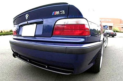High Speed Grill (Rear Trunk Lid Wing Sport Spoiler Lip For BMW E36 3 Series Coupe M M3)