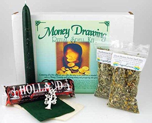 Money Drawing Boxed ritual - Drawing Money Kit Ritual