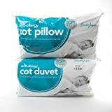 9 Tog Anti-Allergy Cot Bed Duvet and Pillow - Nursery, Baby, Toddler, Junior