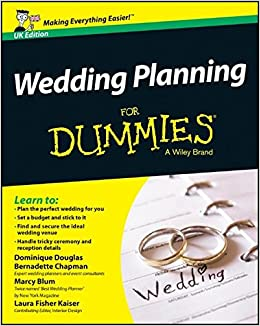Book's Cover of Wedding Planning For Dummies (Anglais) Broché – 29 avril 2014