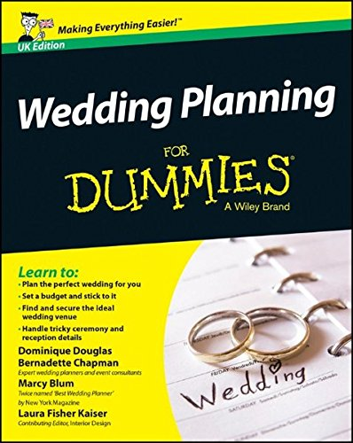 Amazon Fr Wedding Planning For Dummies Dominique Douglas