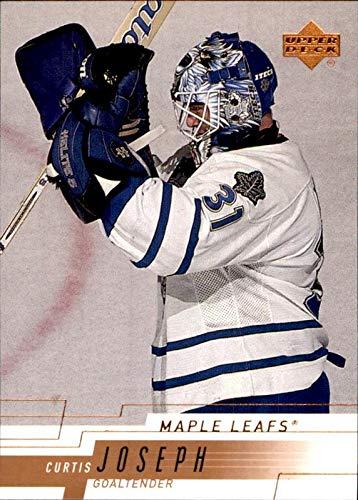 2000-01 Upper Deck #161 Curtis Joseph Cujo toronto maple leafs NHL Hockey Trading Card