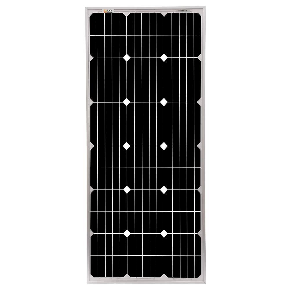 Richsolar 100 Watt 12 Volt Monocrystalline Solar Panel with MC4 Connectors 12 Volt Battery Charging RV, Boat, Off Grid (100W) by Richsolar (Image #2)