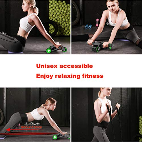 Fitness Equipment & Gear Sporting Goods Constructive Ab Roller Resistance Band Abdominal Wheel Gym Fitness Workout Exercise Pad Core