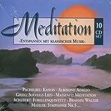 Meditation - Entspannen mit klassischer Musik, 10 CD-Set
