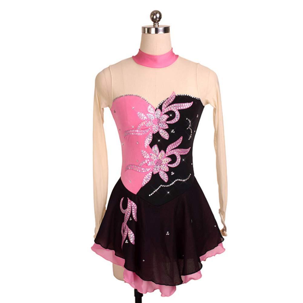 DILIKEXUE Eiskunstlaufkleid für Mädchen Frauen Frauen Frauen Eislaufen Wettbewerb Leistung Kostüm Tanzkostüm Kleid Professionelle Stretch Atmungsaktiv B07MGQ1K54 Kostüme für Erwachsene 8a9c08