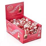 LINDOR Valentine Milk with White Chocolate Truffles Box, 60ct