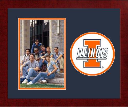 (Campus Images NCAA Illinois Illini University Spirit Photo Frame (Vertical))
