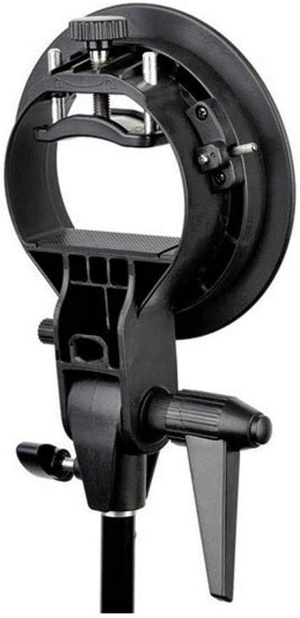 S Type Flash Bracket for Studio Strobe Photo Flash Speedlight Godox 24x24inch// 60x60cm Portable Rectangular Softbox Reflector Bowens Mount with Softbox Bag