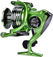 Spinning Fishing Reel, Light Weight Ultra Smooth Metal Baitcast Fishing Reel