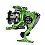 Best Freshwater Spinning Reels - Fishing Reel Smooth Anti-Corrosion Casting Spinning Reel Review
