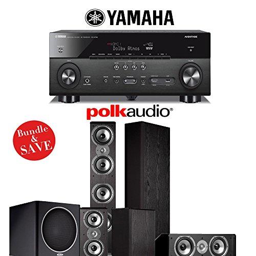Yamaha RX-A760BL 7.2-Ch A/V Receiver + Polk TSi 500 + Polk T