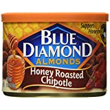 Blue Diamond Almonds, Honey Roasted Chipotle, 6 Ounce