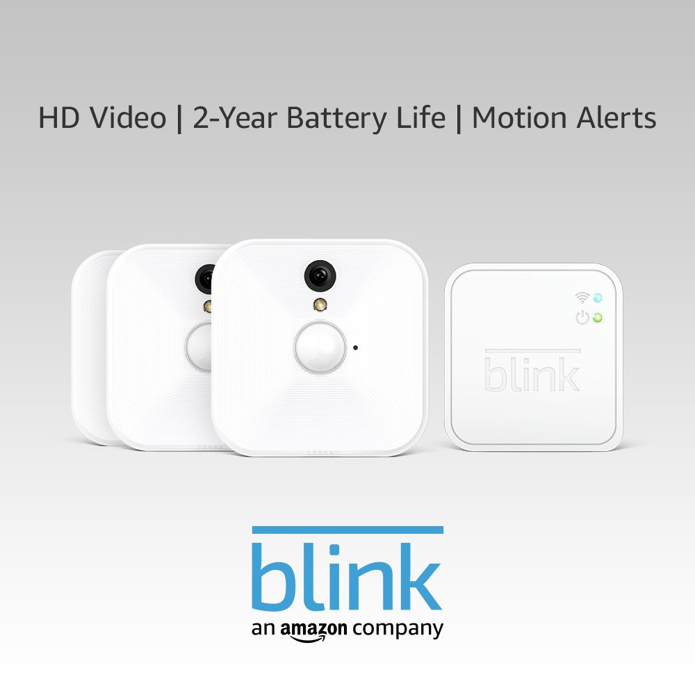 Blink Indoor Home Security Camera System With Motion Detection Hd Very Basic Tracking 2 Pir Sensors Lucky Larry Video Year Battery Life And Cloud Storage Included 3 Kit