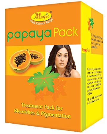 Amazon Com Nature S Essence Papaya Pack For Blemishes And Pigmentation 125gm Beauty