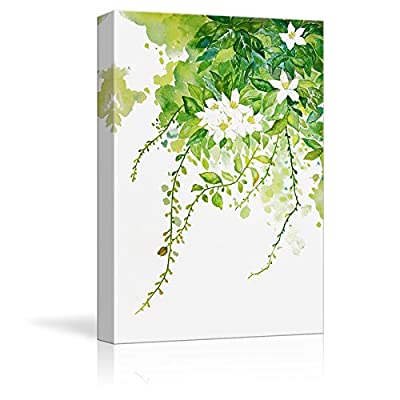 Stunning Object of Art, Osmanthus Blossoms Watercolor Painting Style Art Reproduction, Professional Creation