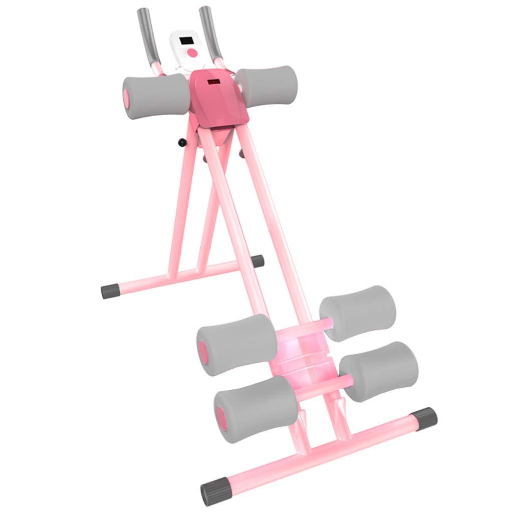 SZQ 腹部トレーナー、腹部の家庭の細いウエストマシン怠惰な動きFoldableフィットネス機器88 * 54 * 102CM 減量ヘルパー  Gray B07GZS6VYN