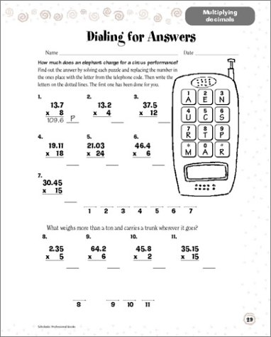 Counting Number worksheets maths worksheets for grade 4 : Scholastic Success With: Math Workbook: Grade 6 (Scholastic ...