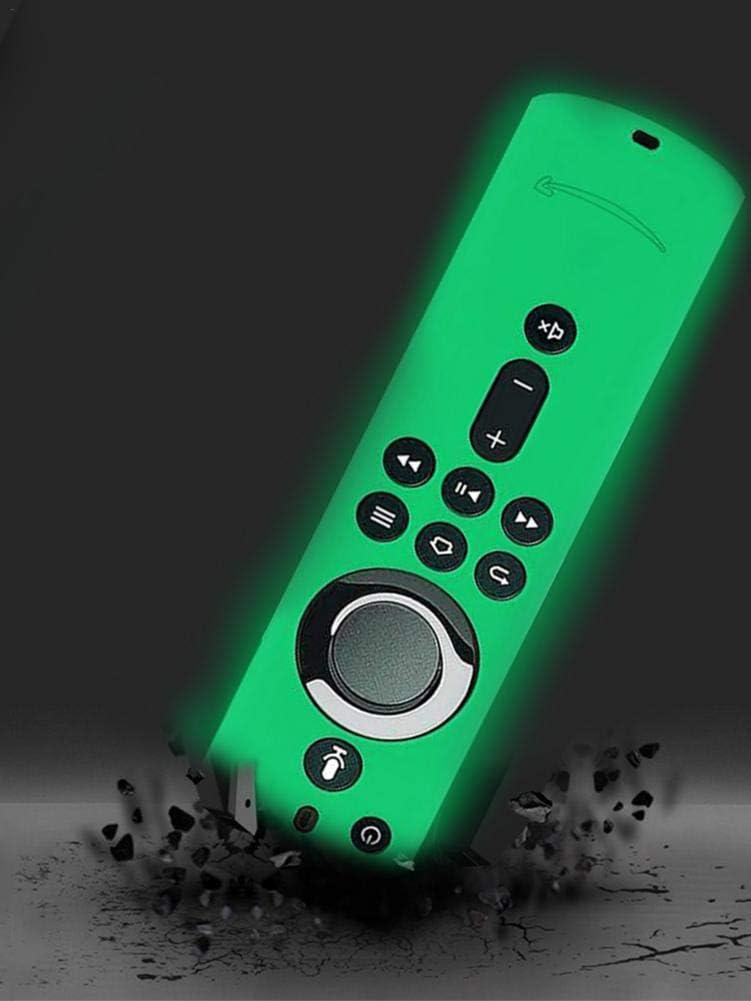 current 3. Generation S-tubit Fernbedienung leuchtende Anti-verlorene Silikonh/ülle f/ür Fire TV Stick 4K Fire TV W/ürfel Fire TV