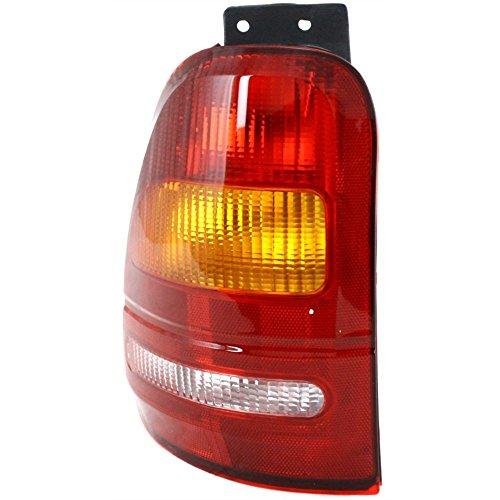 Ford Windstar Left Tail Light - Evan-Fischer EVA15672012500 Tail Light for Ford Windstar 95-98 Lens and Housing Left Side