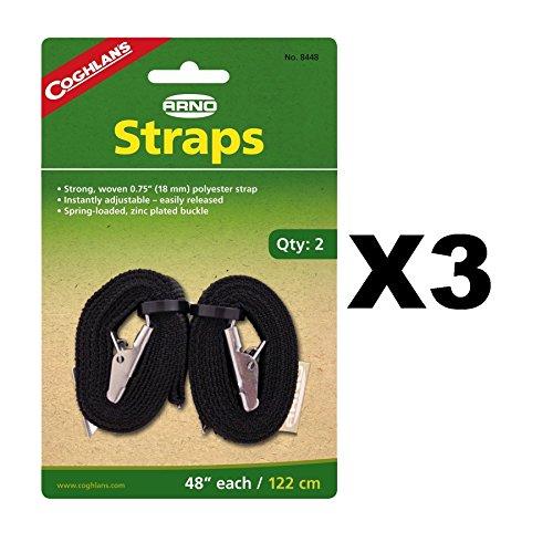 Coghlans Arno Straps - Coghlan'S Arno Strap 48 In. L Blister Pack