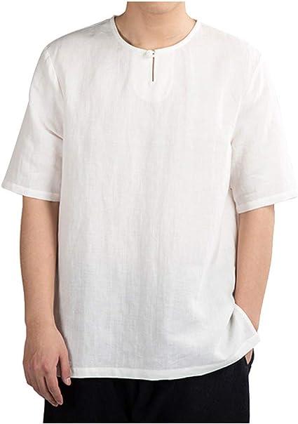 Camisa Hawaiana enrrollada | Hombres | XS-6XL | Manga ...