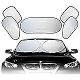 6PCS Car All-around Sunscreen Sun Shade Foldable Window Cover UV Block SunProof