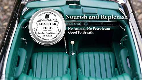 Leather Feed Conditioner | ALL NATURAL | No Animal By-Products | Non-Toxic Care | Marcellino NY | 4oz by Marcellino NY Leathercraft (Image #3)
