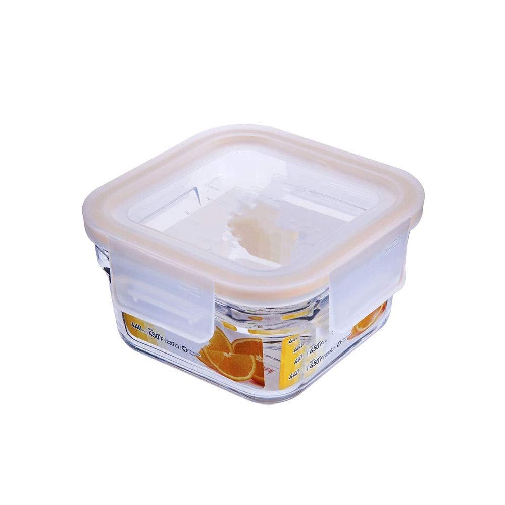 CZDZSWWW Cristal Caja de Almuerzo;La lonchera de los niños ...