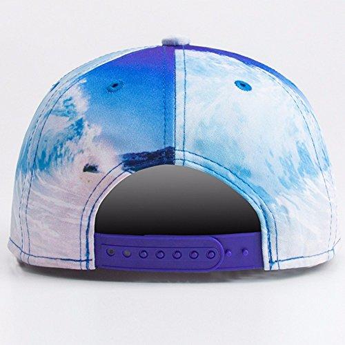 Hip 3D La Sombreros Gorra Nuevas De Snapback Mujer Plana Olas Hop ALWLJ Hombre Playa Impresión 2018 Hueso Béisbol De O De Caps BqpYwO