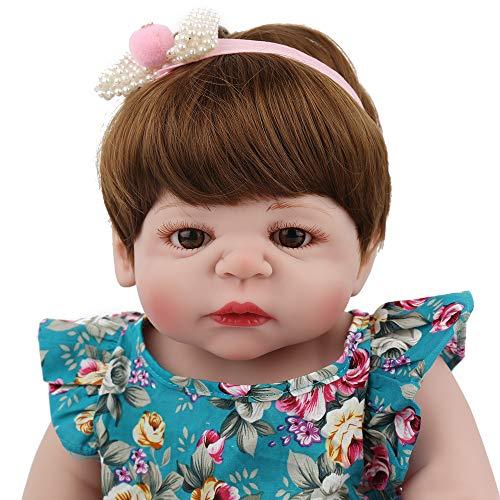 Lovewe Educational Doll,Lifelike Baby Doll 55cm New Doll Kids Girl Playmate Birthday Gift Christmas Gift by Lovewe_Christmas Decor (Image #2)