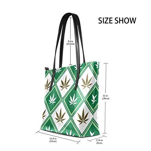 Main Moyen Cuir Pour Cannabis Coosun Les Multicolore Texture Sacs En Pu tout À Femmes Et Bandoulière Sac Fourre vwO0qw