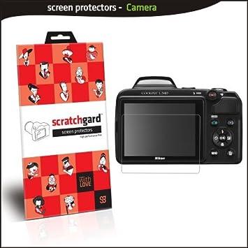 Scratchgard Ultra Clear Screen Protector for Nikon CP L340 Screen guards
