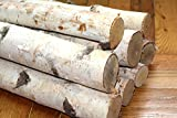 Northern white birch logs. set of 8 logs Review