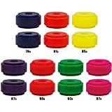 Venom Bushings - High Performance Formula [All Durometers & Shapes] for Skateboards, Longboards (Eliminator, 85a - Yellow)