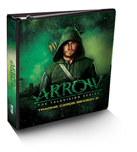 Arrow Season 2 Trading Card Binder Album with Exclusive M25 Costume Card