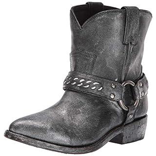 Frye Women's Billy Chain Short Western Boot Black/Multi 6.5 M US