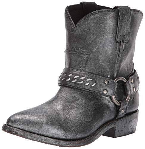 FRYE Women's Billy Chain Short Western Boot Black/Multi 9 M US