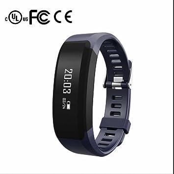 Sport Smart Watch Teléfono Notificación alertas 24 horas Pérdida de pulsómetro Función de alarma Burned Medición