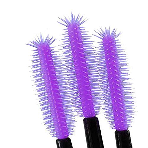 New8Beauty Silicone Mascara Applicator - Pineapple Shaped (50-Pack) NEWEIGHTS
