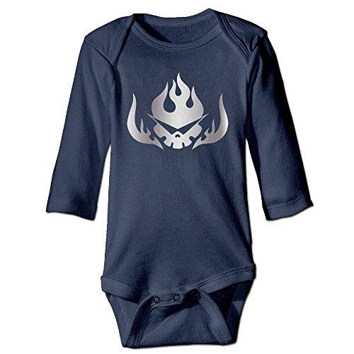 Gurren Lagann Platinum Style Navy Baby Long Jumpsuit