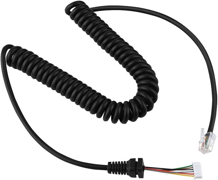 FT-7800 FT-7100M Replacement Speaker Mic Microphone Cable Microphone Cord for YEASU MH-48A6J FT-8900R FT-8800 FT-2800M FT-8900