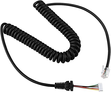 Mic Cable For Yaesu MH-48A6J FT-7800 FT-8800 FT-8900 FT-1802 FT-1807 Car Radio