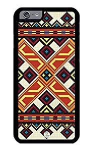 linJUN FENGiZERCASE iPhone 6 Case Aztec Persian Rug Unique Pattern RUBBER CASE - Fits iPhone 6 T-Mobile, Verizon, AT&T, Sprint and International