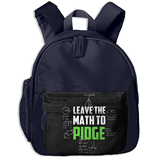 Price comparison product image Custom Leave The Math To Pidge Backpack Students School Bag Kids Backpack