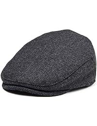 Kids Wool Tweed Flat Cap Herringbone Boy Girl Newsboy Caps Infant Toddler Child Youth Beret Hat Ivy Gatsby Cap